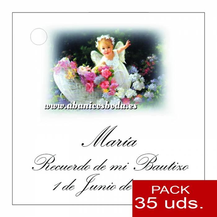Imagen Etiquetas personalizadas Etiqueta Modelo B25 (Paquete de 35 etiquetas 4x4)