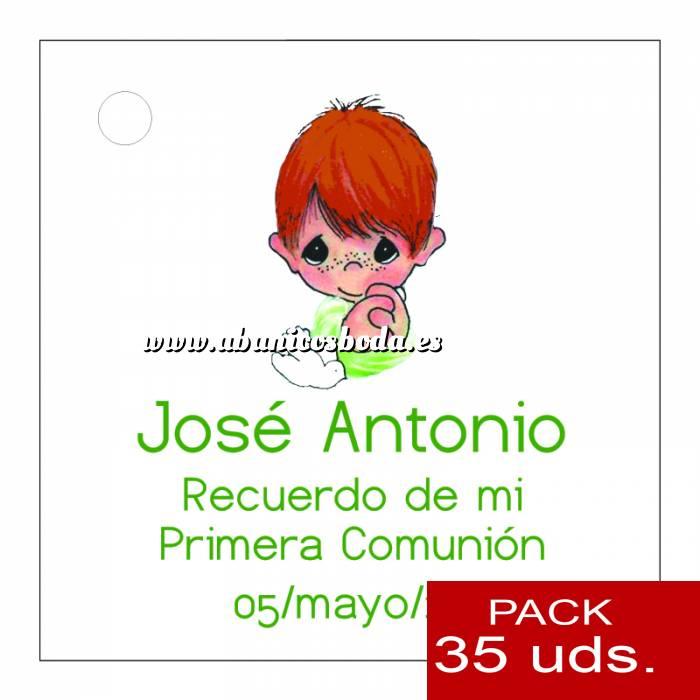 Imagen Etiquetas personalizadas Etiqueta Modelo E16 (Paquete de 35 etiquetas 4x4)
