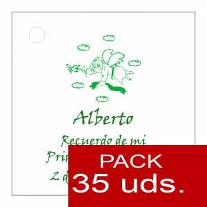 Etiquetas personalizadas - Etiqueta Modelo A19 (Paquete de 35 etiquetas 4x4)