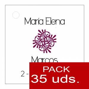 Etiquetas personalizadas - Etiqueta Modelo B09 (Paquete de 35 etiquetas 4x4)