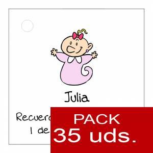 Etiquetas personalizadas - Etiqueta Modelo B22 (Paquete de 35 etiquetas 4x4)