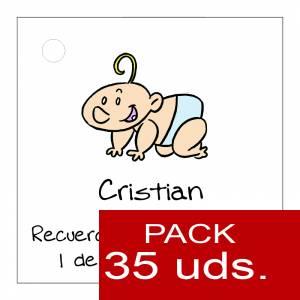 Etiquetas personalizadas - Etiqueta Modelo B23 (Paquete de 35 etiquetas 4x4)