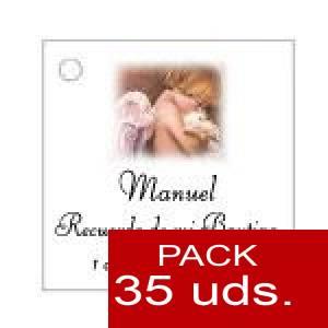Imagen Etiquetas personalizadas Etiqueta Modelo B26 (Paquete de 35 etiquetas 4x4)
