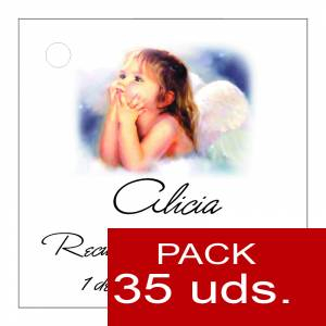 Etiquetas personalizadas - Etiqueta Modelo B27 (Paquete de 35 etiquetas 4x4)