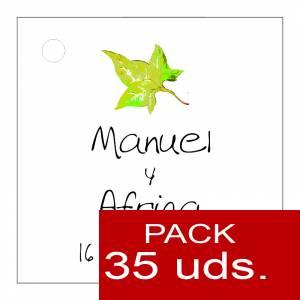 Etiquetas personalizadas - Etiqueta Modelo C07 (Paquete de 35 etiquetas 4x4)