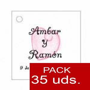 Imagen Etiquetas personalizadas Etiqueta Modelo C09 (Paquete de 35 etiquetas 4x4)