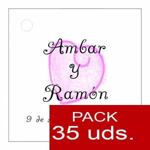 Etiquetas personalizadas - Etiqueta Modelo C09 (Paquete de 35 etiquetas 4x4)