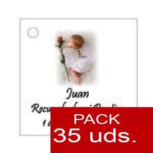 Imagen Etiquetas personalizadas Etiqueta Modelo C25 (Paquete de 35 etiquetas 4x4)