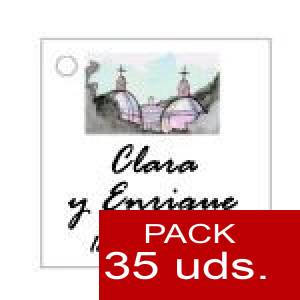 Imagen Etiquetas personalizadas Etiqueta Modelo D07 (Paquete de 35 etiquetas 4x4)