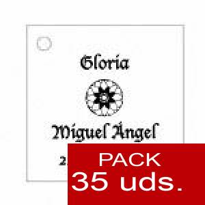 Imagen Etiquetas personalizadas Etiqueta Modelo D11 (Paquete de 35 etiquetas 4x4)