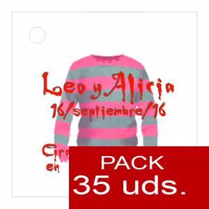 Etiquetas personalizadas - Etiqueta Modelo D16 (Paquete de 35 etiquetas 4x4)