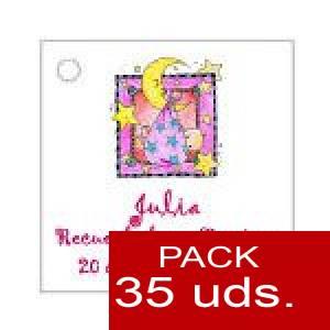 Imagen Etiquetas personalizadas Etiqueta Modelo D27 (Paquete de 35 etiquetas 4x4)