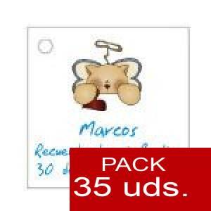 Imagen Etiquetas personalizadas Etiqueta Modelo E23 (Paquete de 35 etiquetas 4x4)