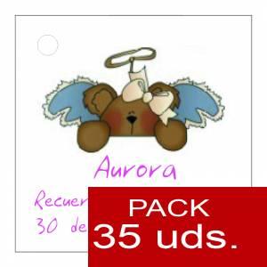 Etiquetas personalizadas - Etiqueta Modelo E24 (Paquete de 35 etiquetas 4x4)