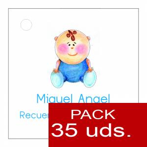 Etiquetas personalizadas - Etiqueta Modelo F16 (Paquete de 35 etiquetas 4x4)