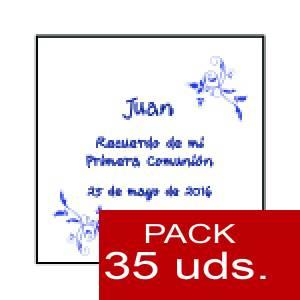 Imagen Etiquetas personalizadas Etiqueta Modelo F18 (Paquete de 35 etiquetas 4x4)