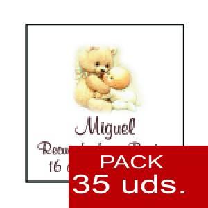 Imagen Etiquetas personalizadas Etiqueta Modelo F22 (Paquete de 35 etiquetas 4x4)