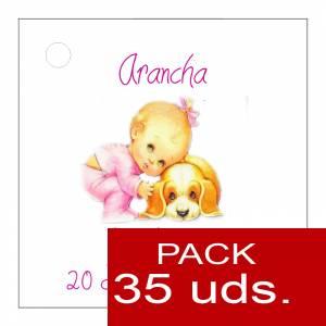 Etiquetas personalizadas - Etiqueta Modelo F23 (Paquete de 35 etiquetas 4x4)