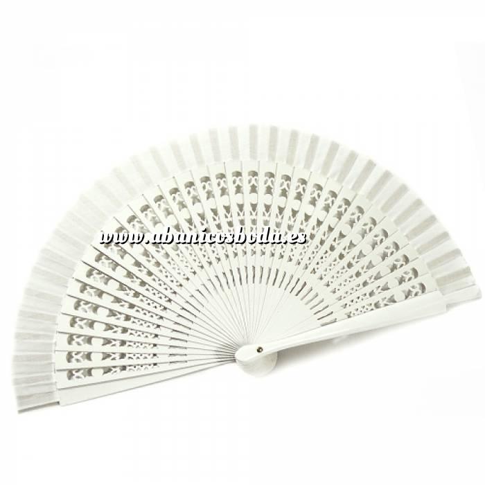 Imagen Abanico Calado 23 cm Abanicos Calados 23 cm BLANCO (Últimas Unidades)-RE