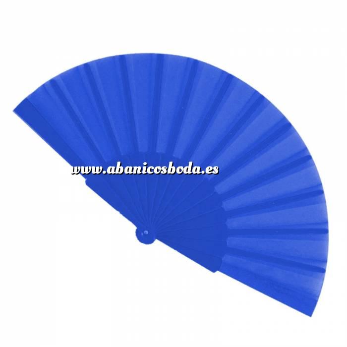 Imagen Abanico Económicos Abanico de tela Azul Oscuro (con varillas de plástico) (Últimas Unidades)