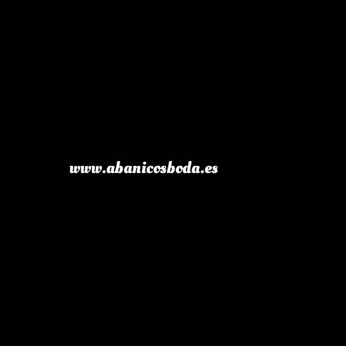 Imagen Abanico de Frutas Abanico de frutas - Modelo Amarillo con tela blanca y estampado de Limones