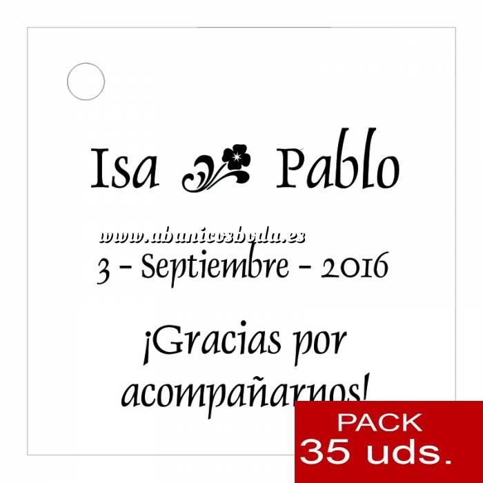 Imagen Etiquetas impresas Etiqueta Modelo D01 (Paquete de 35 etiquetas 4x4)