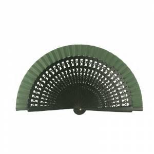 Abanico Calado 16 cm - Abanicos Calados 16 cm Verde Botella (Últimas Unidades)