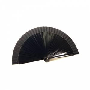 Abanico Liso 23 cm - Abanico Liso 23 cm NEGRO (Últimas Unidades)-R