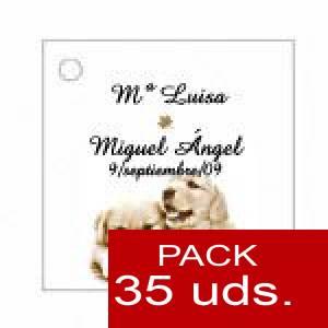 Imagen Etiquetas impresas Etiqueta Modelo B16 (Paquete de 35 etiquetas 4x4)
