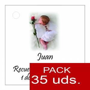 Etiquetas impresas - Etiqueta Modelo C25 (Paquete de 35 etiquetas 4x4)