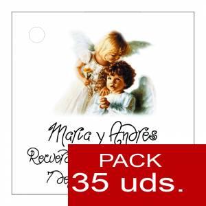 Etiquetas impresas - Etiqueta Modelo C27 (Paquete de 35 etiquetas 4x4)