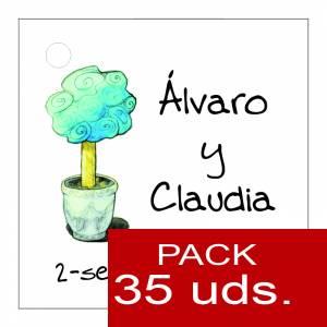 Etiquetas impresas - Etiqueta Modelo D08 (Paquete de 35 etiquetas 4x4)