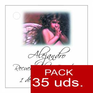 Etiquetas impresas - Etiqueta Modelo D25 (Paquete de 35 etiquetas 4x4)