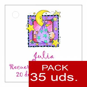 Etiquetas impresas - Etiqueta Modelo D27 (Paquete de 35 etiquetas 4x4)
