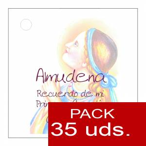 Etiquetas impresas - Etiqueta Modelo E14 (Paquete de 35 etiquetas 4x4)