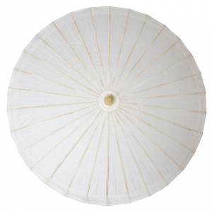 Sombrillas - Sombrilla Japonesa Blanca SIN dibujos